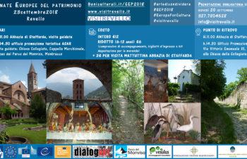 Giornate Europee del Patrimonio – Revello – 23 settembre 2018