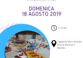 """Attività per famiglie """"Marchese per un giorno"""" 18 agosto 2019"""