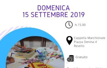 """Attività per famiglie """"Marchese per un giorno"""" 15 settembre 2019"""